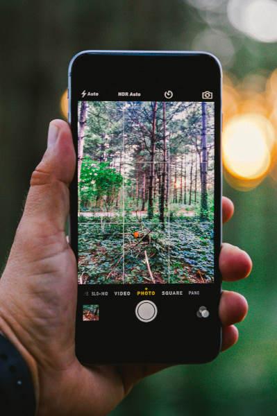 iPhone camera image