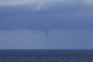 Water spout. The spit. Southport.