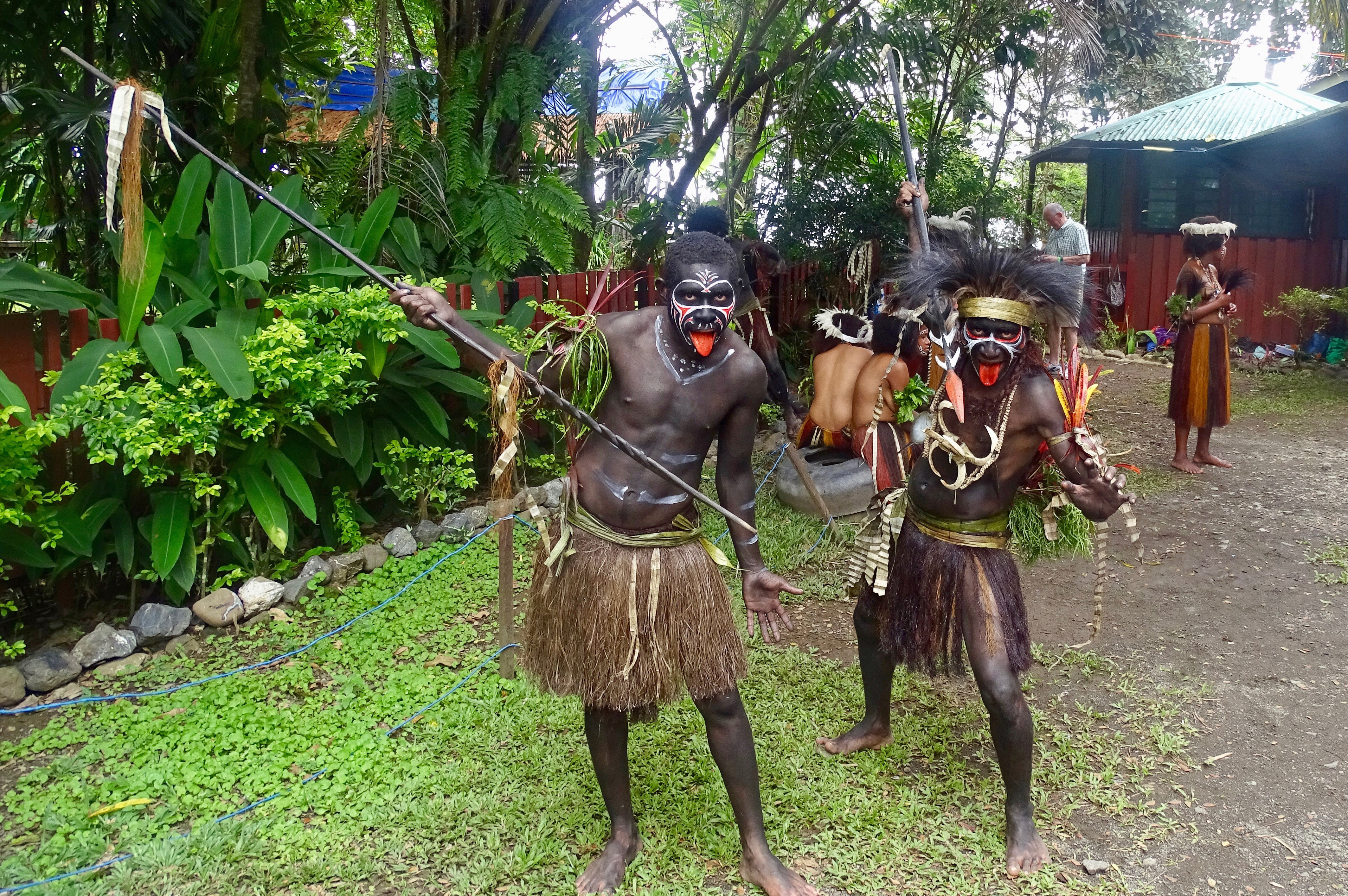Papua warriors
