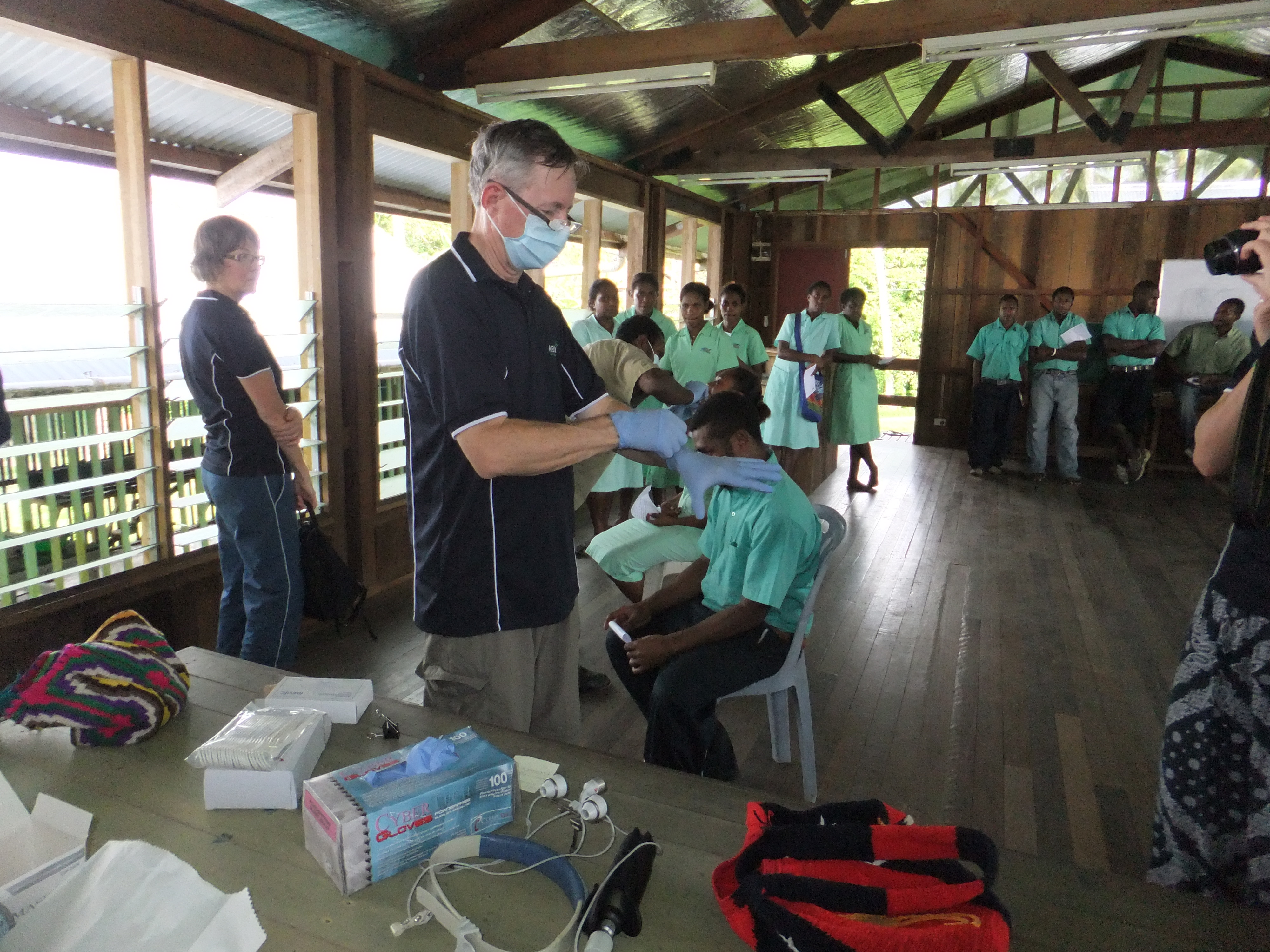 Dentist in PNG