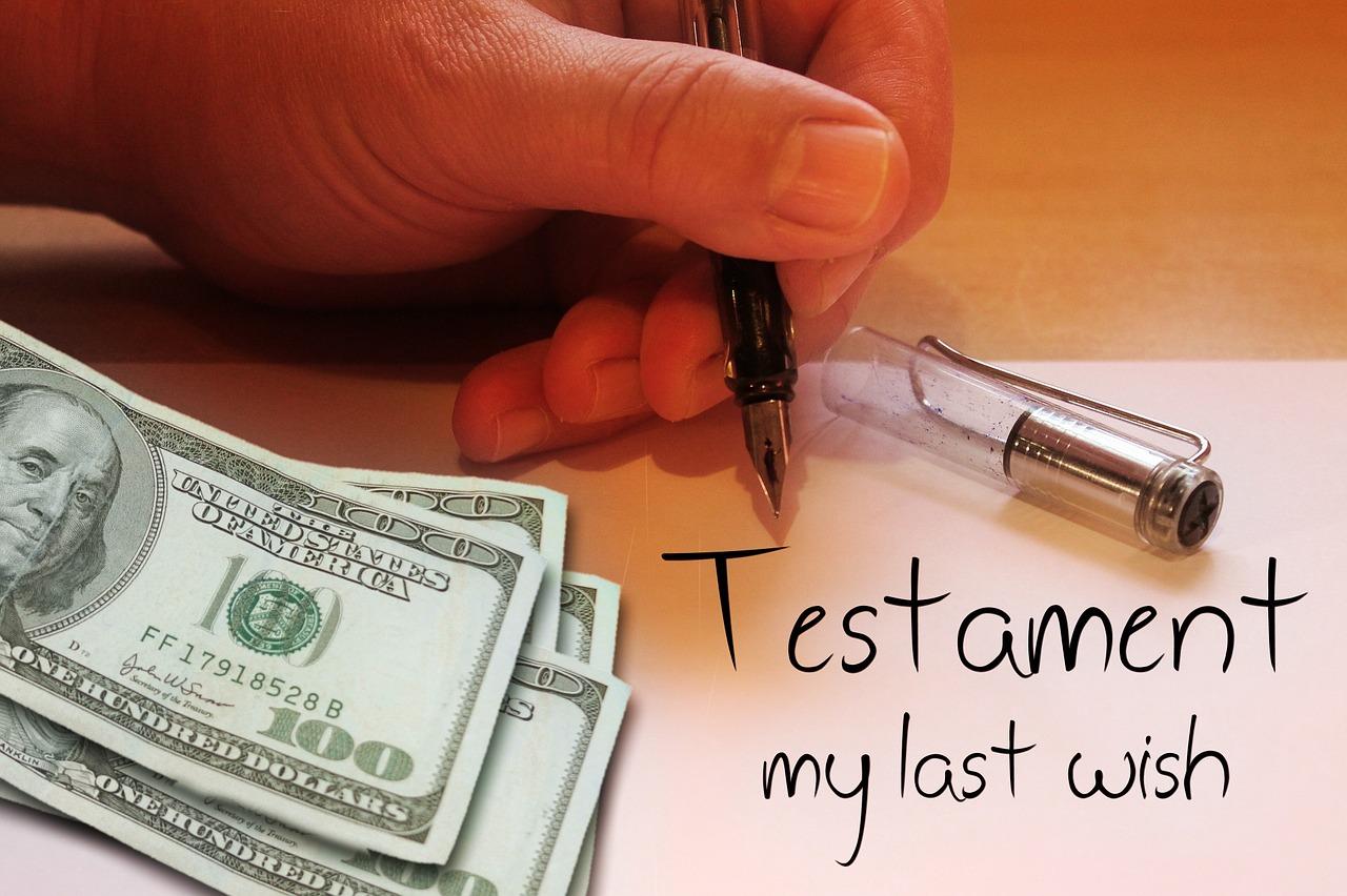 Testament writing