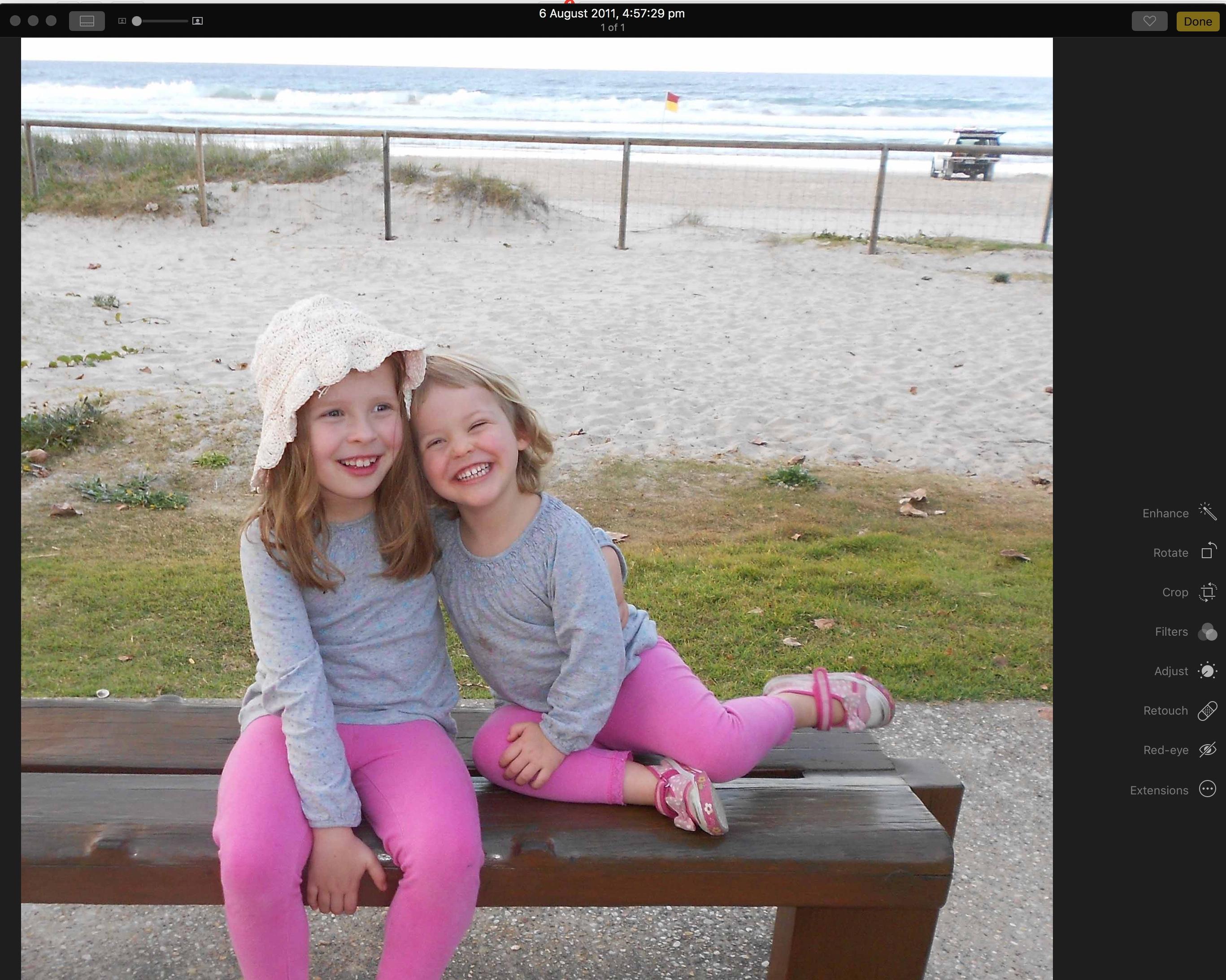 2 grand daughters