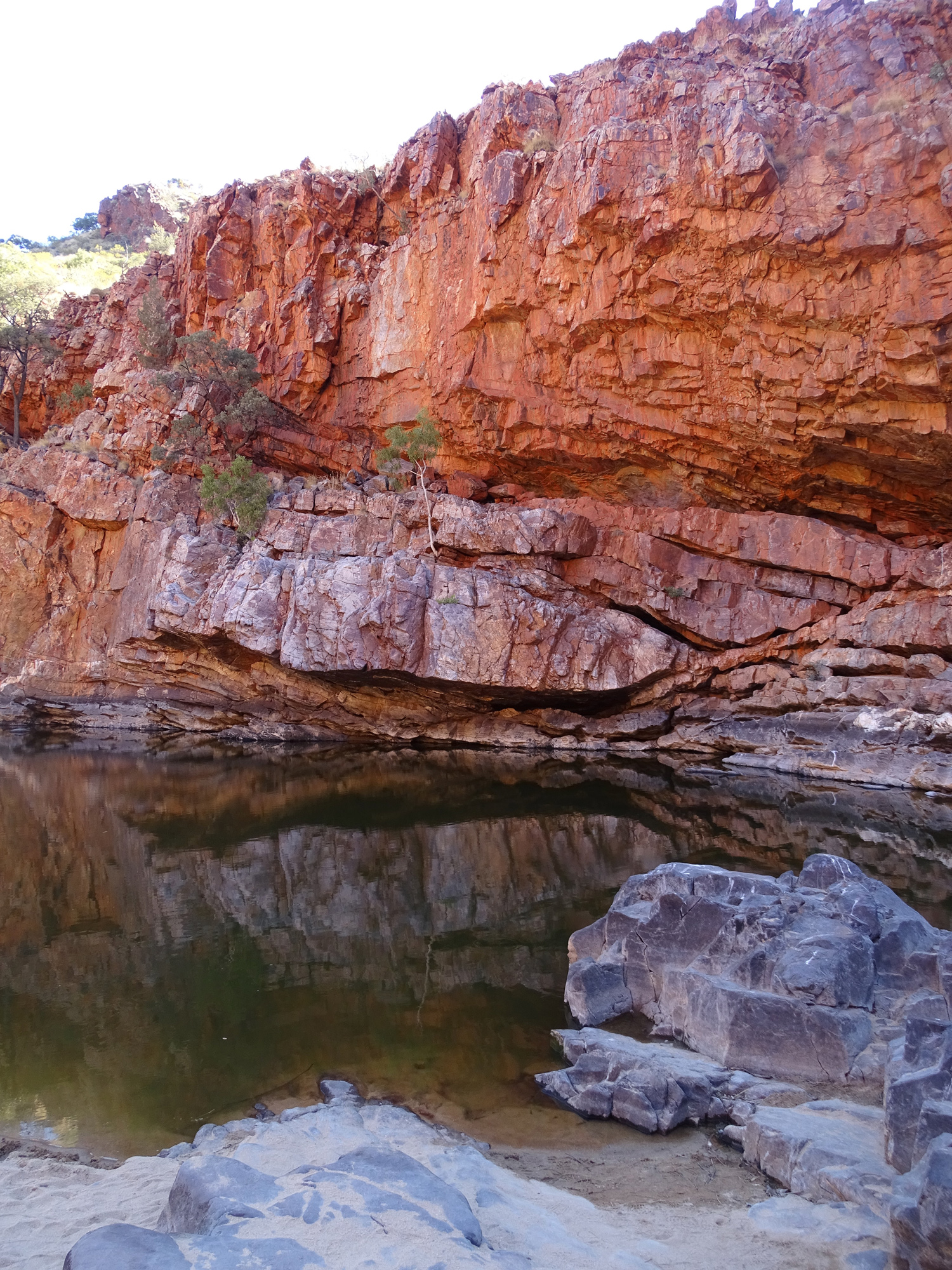 Ormistin Gorge Red Cliffs