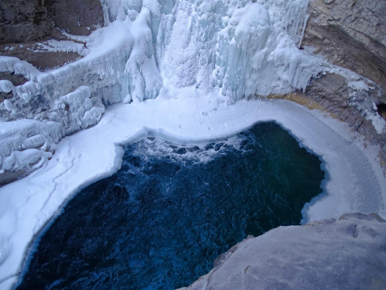 Canada Frozen Water Fall