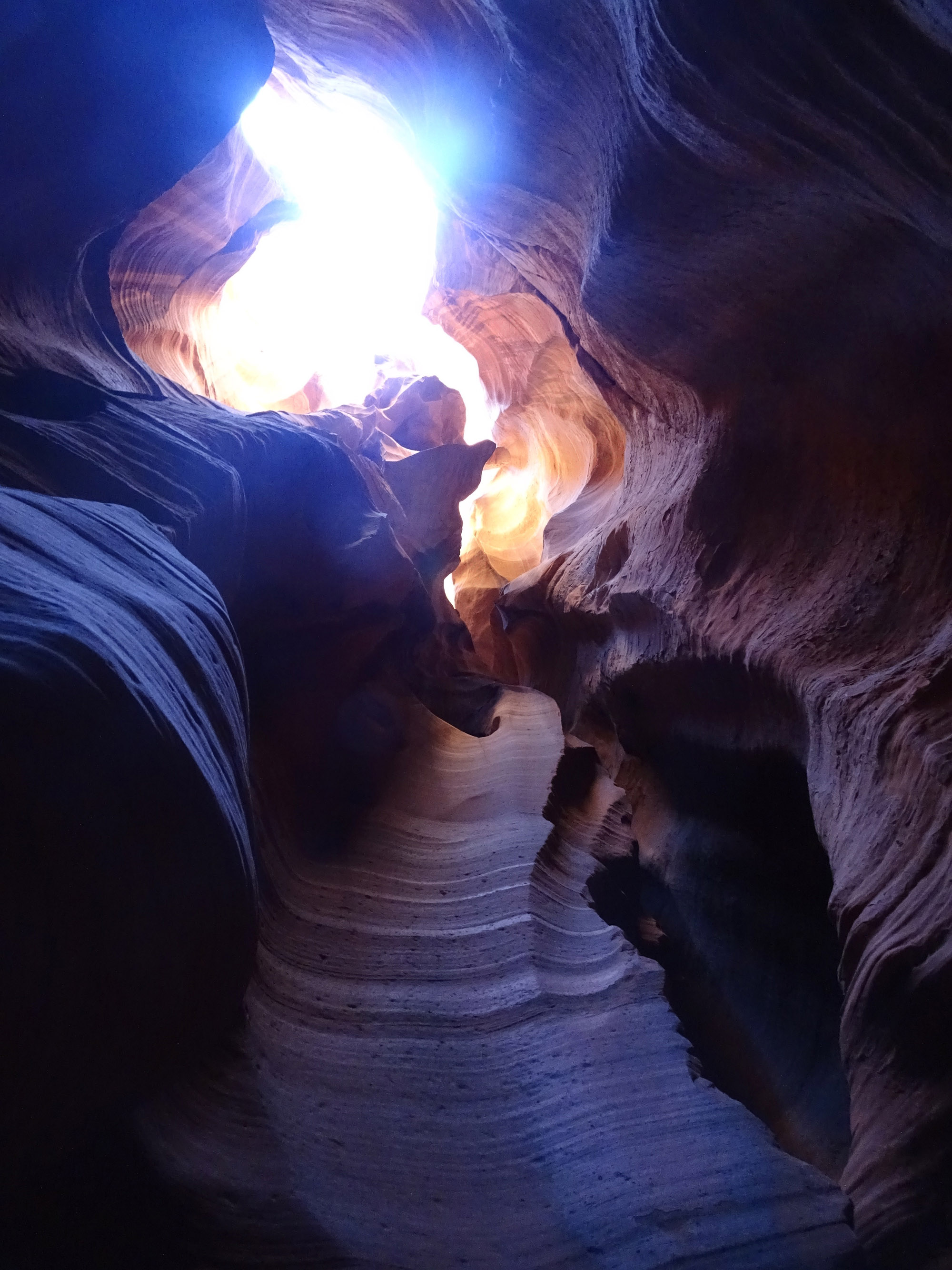 Different view of Antelope canyon