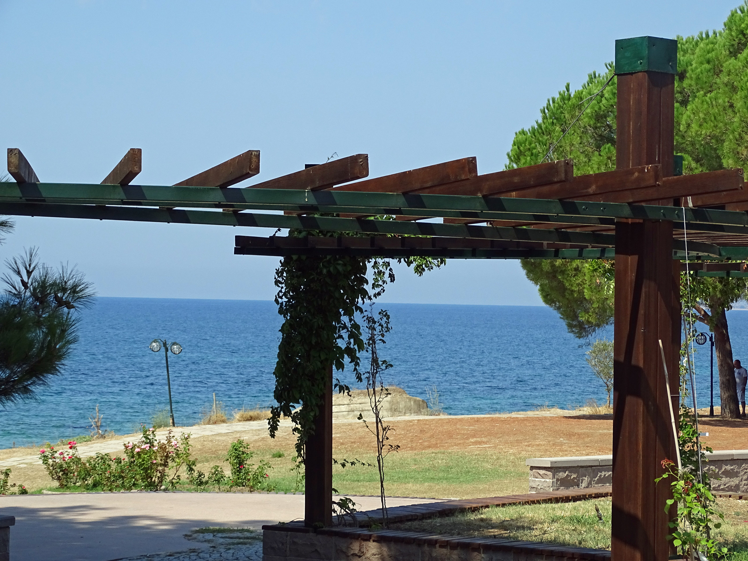 Looking over the Dardanelles