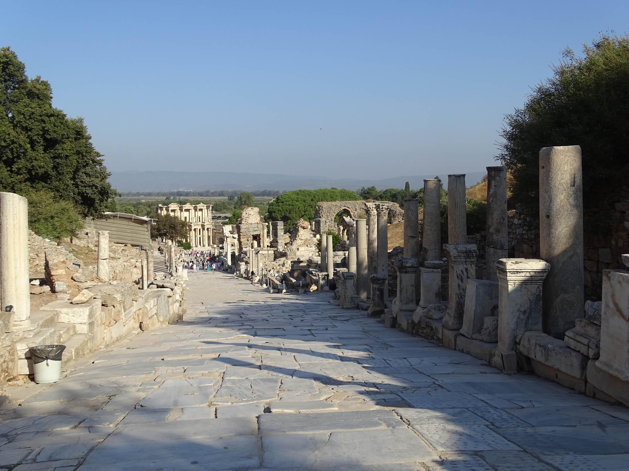Curettes street Ephesus