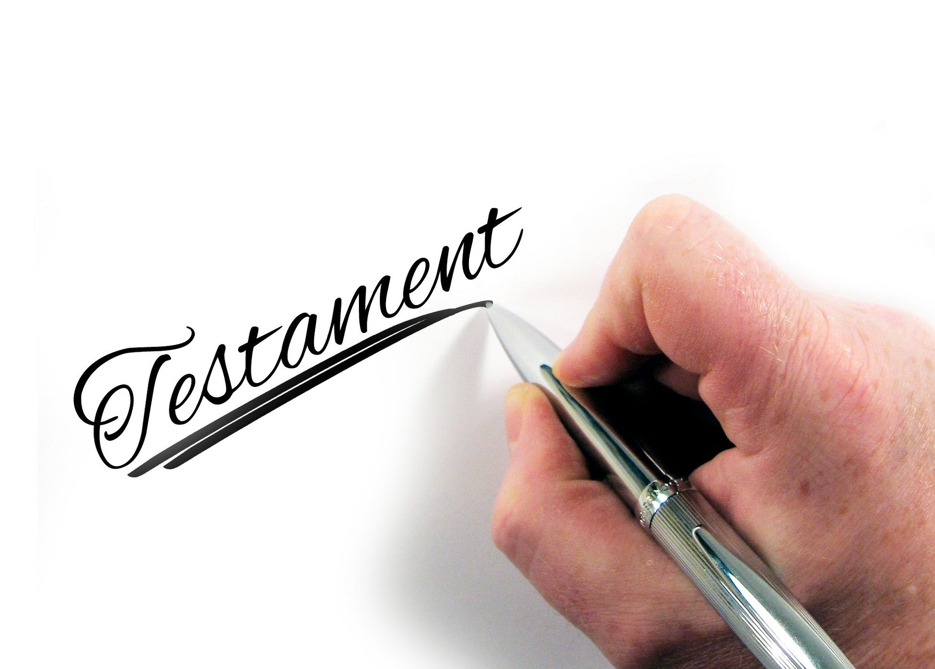 Writing testament