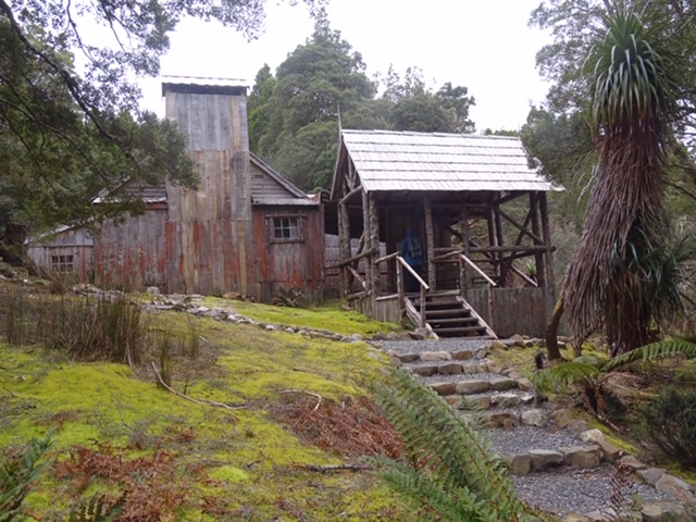 Hut at Cradle Mountain Tasmania